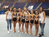 Ximnasia Pavillón medalla de bronce na Copa de España de conxuntos