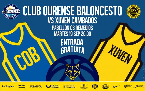 Rio Ourense se presentará ante su afición el martes 19