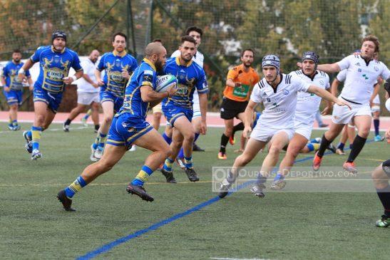 """Campus Universitario ya gana en la División de Honor """"B"""" de Rugby"""