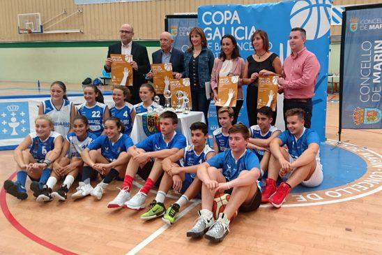 Presentada a Copa Galicia Senior de baloncensto