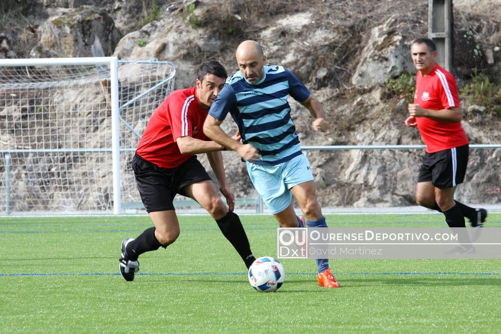 Futbol Veteranos Ourense Sobrado Bentraces 2017 David Martinez