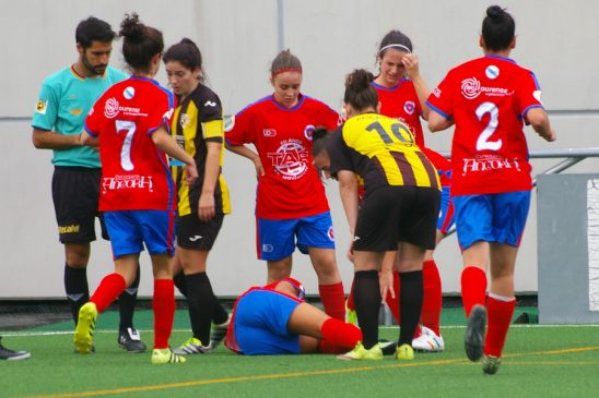 U.D. Ourense golea a S.D. Tordoia na primeira feminina