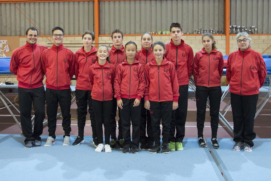 Mundialistas ximnasia pavillon trampolin 2017