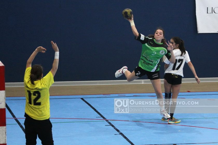 Balonmano Nova Xestion Pabellon Femenino Foto David Martinez