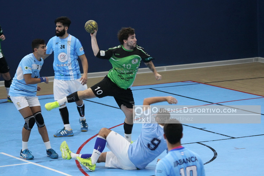 Balonmano Nova Xestion Pabellon Seis do Nadal 2017 David Martinez