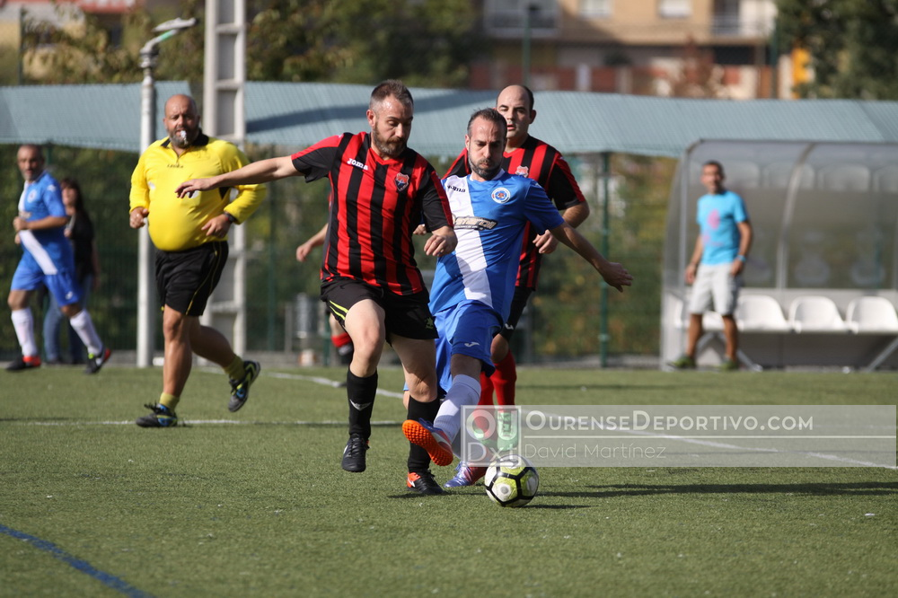 Futbol Veteranos Ourense David Martinez