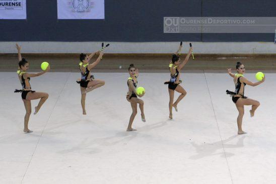 Ampla participación do Ximansia Pavillón no Torneo de conxuntos Euskalgym