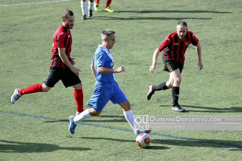 Futbol Veterano Axouxeriños Velle 2017 Foto David Martinez