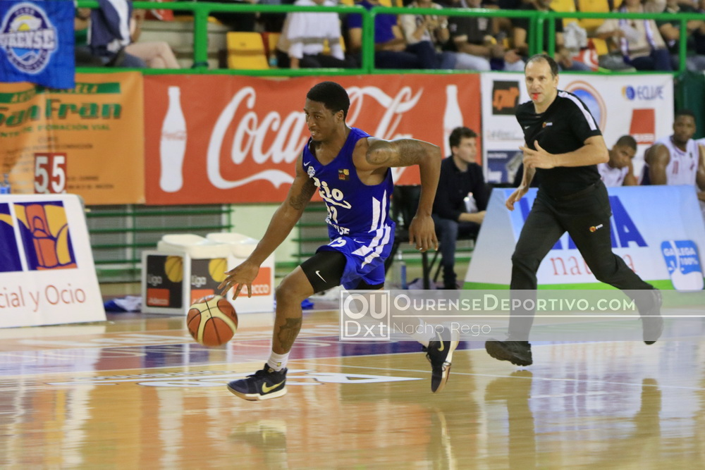 Rio Ourense REGINALD JOHNSON JR Foto Nacho Rego