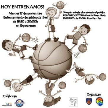 Iniciación al baloncesto en Sportur Galicia – Expourense