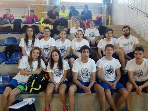 Buenas marcas para Natación Pabellón en la segunda jornada del Circuito ADAN