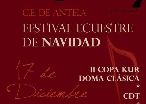 Festival Ecuestre de Navidad en el Hipódromo de Antela