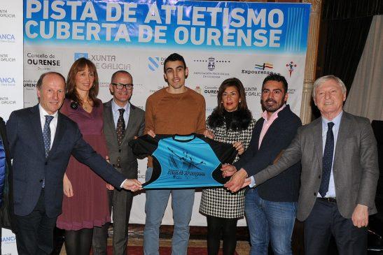 Presentación do Trofeo Inaugural Pista Cuberta de Expourense