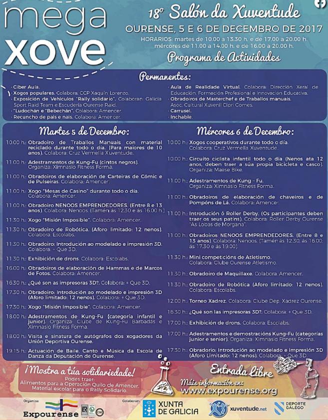 Programa Megaxove Expourense 2017