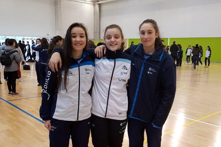 Veronica, Maria y Sandra Nova Xestión Pabellón