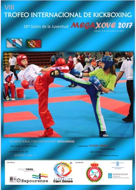 torneo kickboxing expourense megaxove 2017