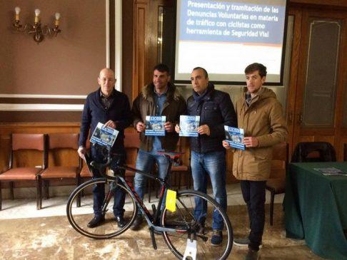 Presentación de Denuncias Voluntarias en materia de tráfico con ciclistas