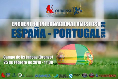 Rugby:  España / Portugal Sub20 @ Campus Universitario de Ourense | Orense | Galicia | España