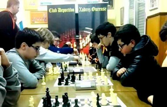 Xadrez Ourense e Benchoshey acaparan os títulos provinciais de xadrez