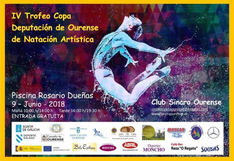 IV Trofeo Copa Diputación de Ourense de Natación Artística @ Piscina Rosario Dueñas | Orense | Galicia | España