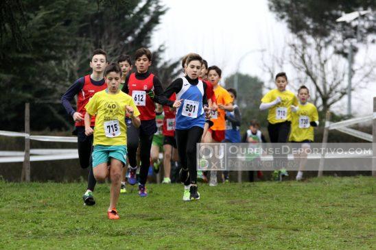 Ourense Atletismo dominador del Comarcal Escolar de Campo a través