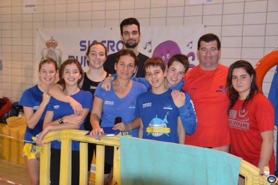 Siete triunfos para Salvour en la tercera jornada de liga de salvamento y socorrismo deportivo