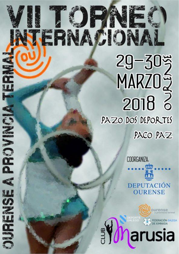 Rítmica: VII Torneo Internacional Ourense Provincia Termal @ Paco Paz | Ourense | Galicia | España