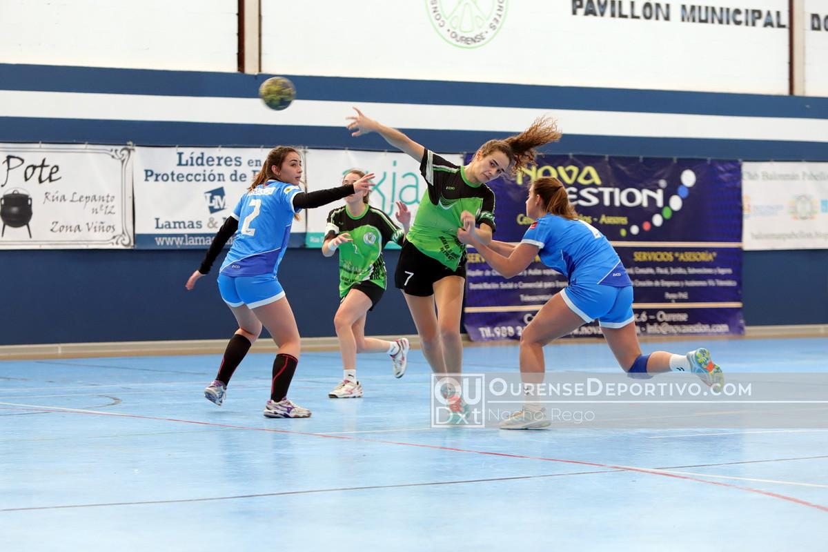 2018 Balonmano Nova Xestion Femenino Foto Nacho Rego