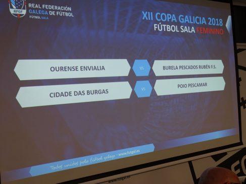 Emparejamientos Copa Xunta Femenina Futbol Sala 2018