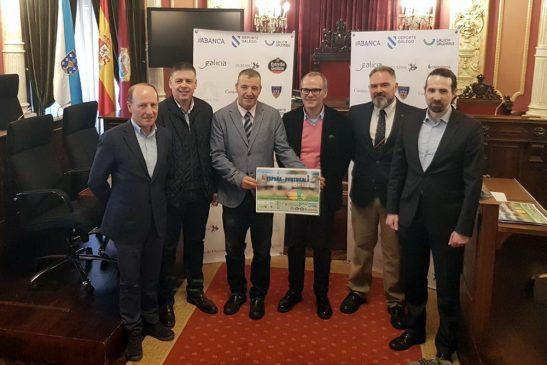 A selección española de Rugby sub-20 prepara en Ourense o Campionato de Europa