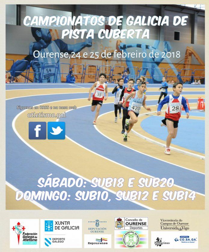 Atletismo: Cpto de Galicia Sub18(Xuv) e Sub20(Jun) de Pista Cuberta @ San Ciprián de Viñas | Galicia | España