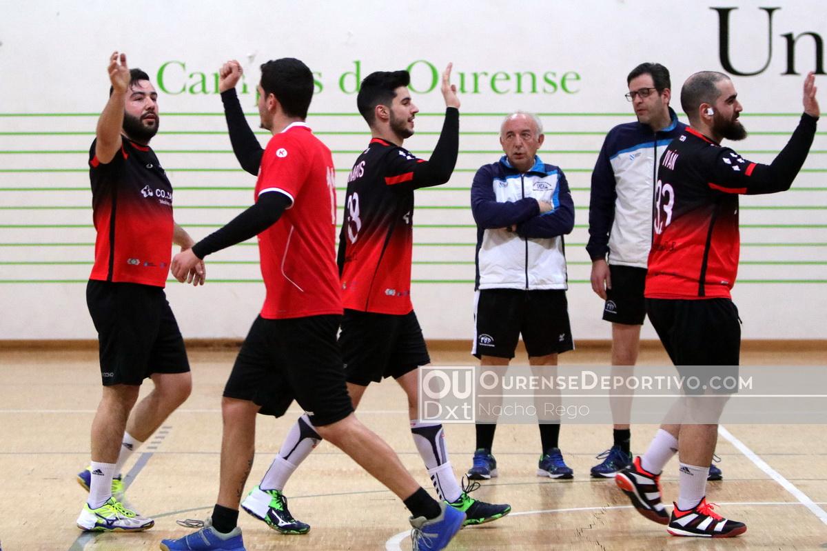 Campus Ourense Balonmano Foto Nacho Rego