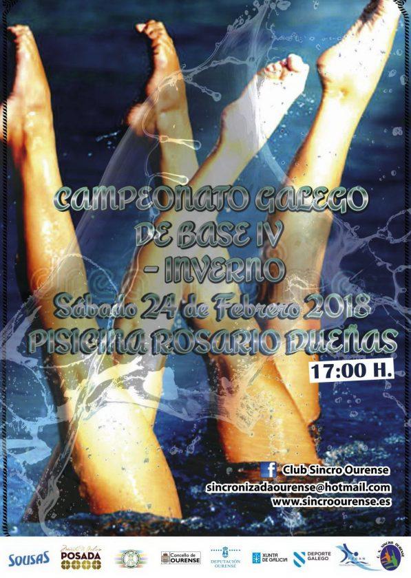Sincro: Cto. Galego de Base 4 Natación Artítisca @ Piscina Rosario Dueñas | Orense | Galicia | España
