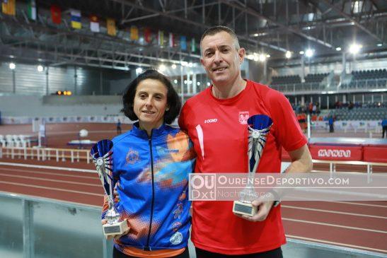 El atletismo ourensano master suma cuatro nuevos récords de Galicia