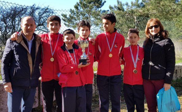Ourense Atletismo campeón de Galicia cadete de campo a través