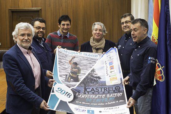 Castrelo recibe a máis de 500 deportistas no Campionato Galego de Piragüismo