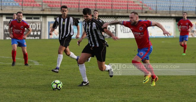 A U.D. Ourense deixa marchar outros dous puntos no Couto
