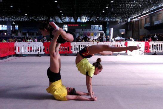 Ximnasia Burgas acudirá con dos grupos a la Copa Galicia de gimnasia acrobática