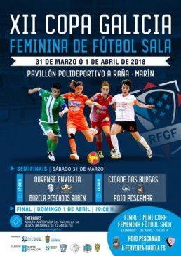 Ourense Envialia y Cidade das Burgas en busca de la final de la Copa Galicia de Futbol Sala