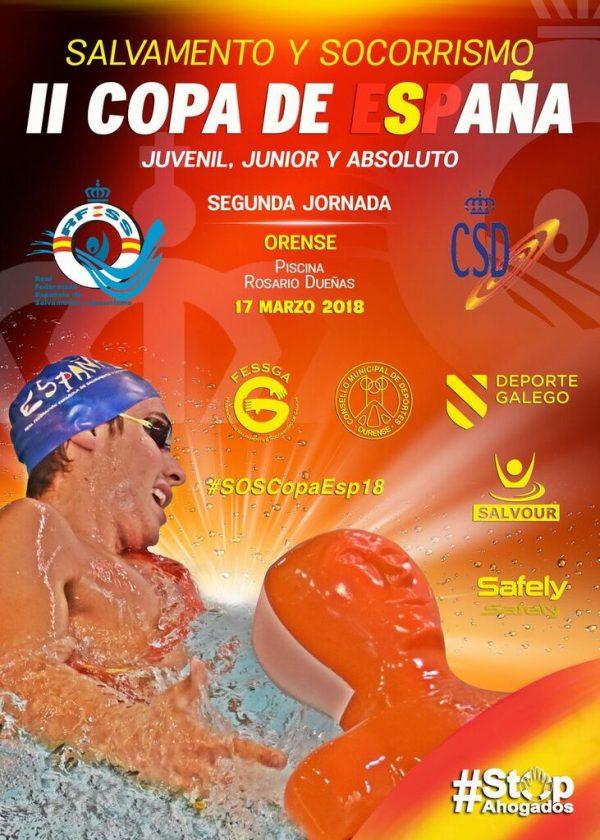 II Copa de España de Salvamento e Socorrismo - 2ª jornada @ Piscina Rosario Dueñas | Orense | Galicia | España