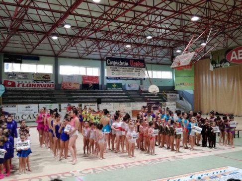 El I Torneo Interescuelas de rítmica se inició con mas de 300 gimnastas