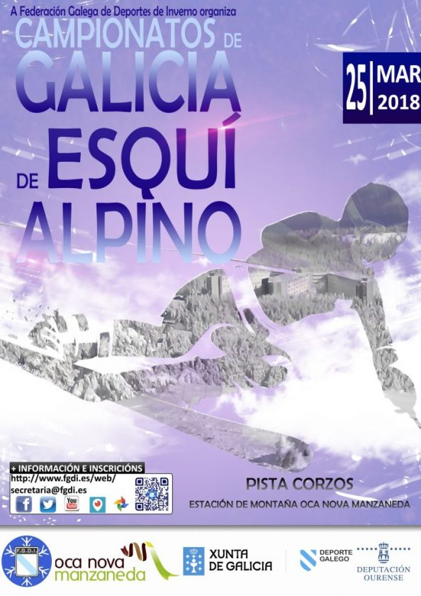 Campionato de Galicia de Esquí Alpino @ Manzaneda | Cabeza de Manzaneda | Galicia | España