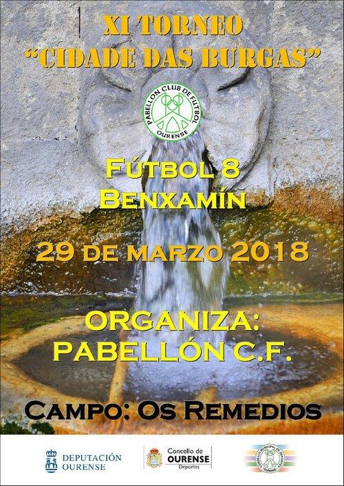 XI Torneo Cidade das Burgas - Fútbol 8 Benxamín @ Campo de Fútbol Os Remedios