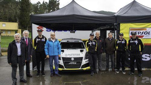 Deputacion Ourense equipo rallys Suzuki