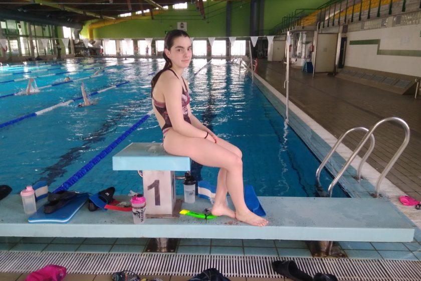 Eva Feijoo natacion pabellon