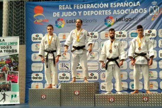Felipe Iglesias se proclama Campeón de España de Jiu Jitsu