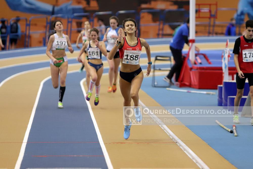 Gallego Sub16 Atletismo Foto Nacho Rego