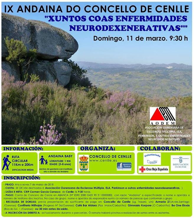 IX Andaina do Concello de Cenlle @ Concello de Cenlle