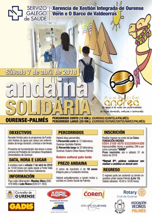 Andaina Solidaria Ourense Palmés - Fundación Andrea @ Ourense