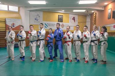Marbel acude con cinco competidores al Nacional de Jiu Jitsu